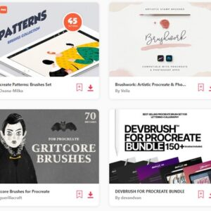 envato-elements brushers